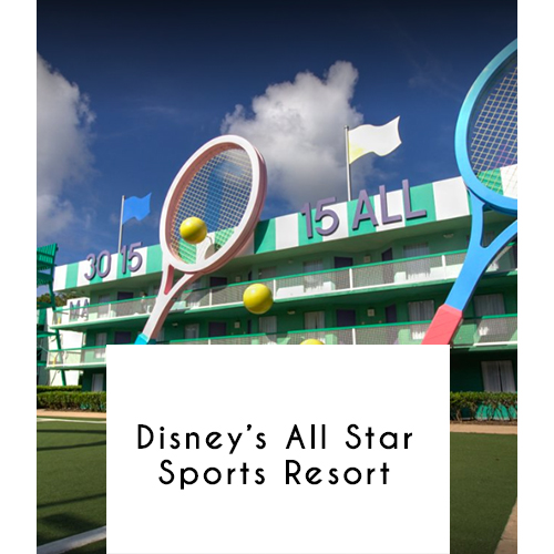 Disney's All-Star Sports Resort, Orlando, Florida
