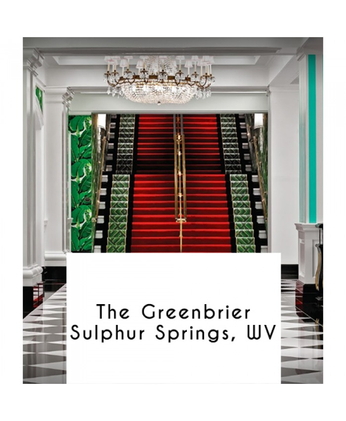 The Greenbrier, Sulphur Springs, West Virginia